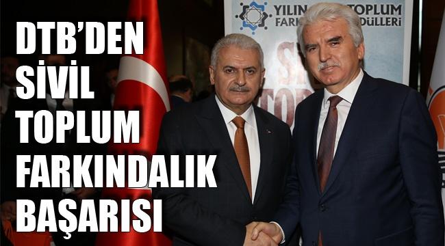 DTB'DEN SİVİL TOPLUM FARKINDALIK BAŞARISI