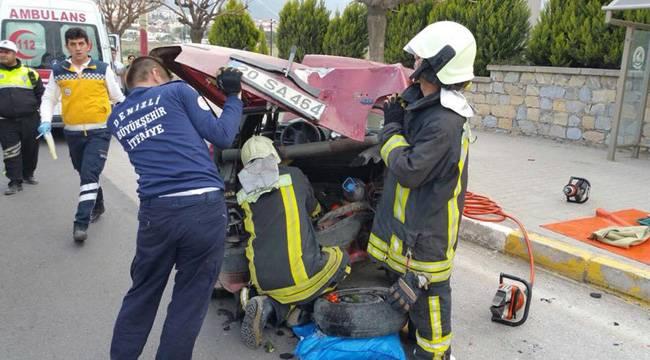 Merkezefendi'de kaza: 6 yaralı