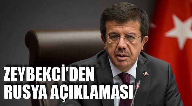 ZEYBEKCİ'DEN RUSYA AÇIKLAMASI