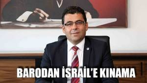 BARODAN İSRAİL'E KINAMA