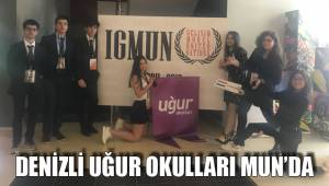 DENİZLİ UĞUR OKULLARI MUN'DA