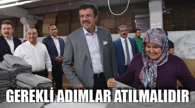 GEREKLİ ADIMLAR ATILMALIDIR