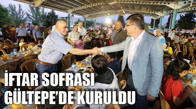 İFTAR SOFRASI GÜLTEPE'DE KURULDU