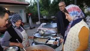 İmamlar'da iftar bereketi