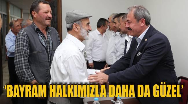 'BAYRAM HALKIMIZLA DAHA DA GÜZEL'