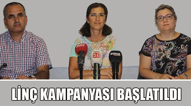 LİNÇ KAMPANYASI BAŞLATILDI