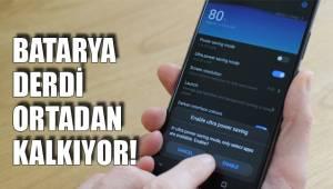 BATARYA DERDİ ORTADAN KALKIYOR!
