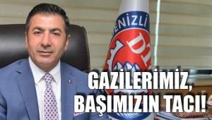 GAZİLERİMİZ, BAŞIMIZIN TACI!