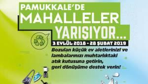 PAMUKKALE'DE MAHALLELER YARIŞIYOR