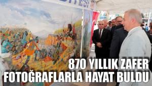 870 yıllık zafer fotoğraflarla hayat buldu