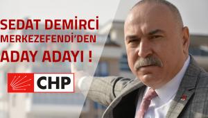 Aday Adaylığı için ilk resmi başvuruyu Sedat Demirci yaptı