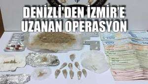 Denizli'den İzmir'e uzanan operasyon