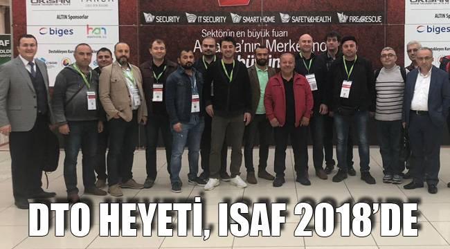 DTO HEYETİ, ISAF 2018'DE