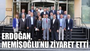 Erdoğan, Memişoğlu'nu ziyaret etti