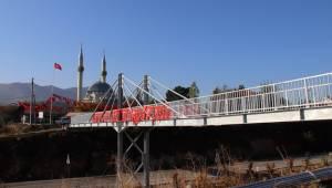 Köprü açılışı yapıldı