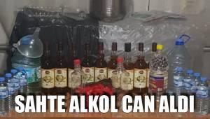 Sahte alkol can aldı