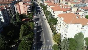 Bursa Caddesi 10 günde yenilendi
