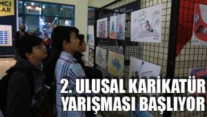 2. ulusal karikatür yarışması başlıyor