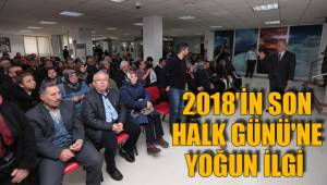 2018'in son Halk Günü'ne yoğun ilgi