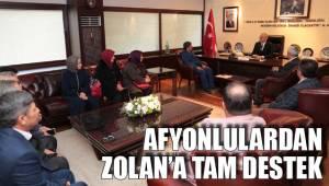 Afyonlulardan Zolan'a Tam Destek