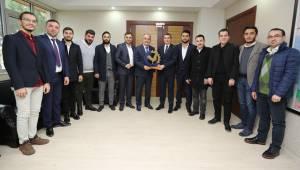 Başkan Gürlesin, Genç ASKON Yönetimini ağırladı