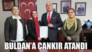 Buldan'a Çankır Atandı