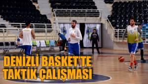 Denizli Basket'te Taktik Çalışması