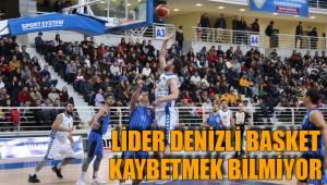 Lider Denizli Basket Kaybetmek Bilmiyor