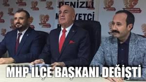 MHP İlçe Başkanı Değişti
