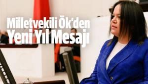 Milletvekili Nilgün ÖK'den yeni yıl mesajı