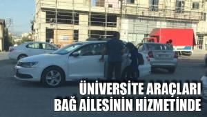 Üniversitenin tüm imkanlarından faydalanıyorlar