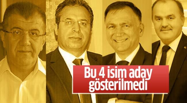 AK Parti'de 4 başkan yeniden aday gösterilmedi
