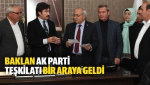 Baklan AK Parti Teşkilatı Vefa Yemeği'nde bir araya geldi
