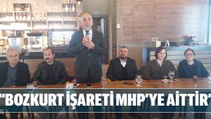 """""""BOZKURT İŞARETİ MHP'YE AİTTİR"""""""
