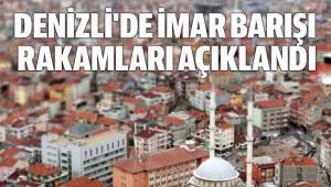 DENİZLİ'DE İMAR BARIŞI RAKAMLARI AÇIKLANDI