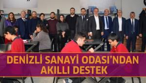DENİZLİ SANAYİ ODASI'NDAN AKILLI DESTEK
