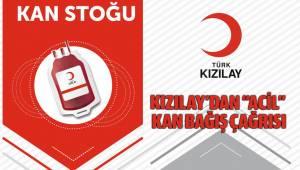 """KIZILAY'DAN """"ACİL"""" KAN BAĞIŞ ÇAĞRISI"""