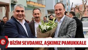 ÖRKİ,''PAMUKKALE'Yİ PIRLANTA GİBİ İŞLEYECEĞİZ''