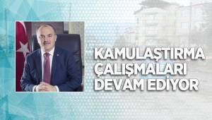 PAMUKKALE'DE KAMULAŞTIRMA ÇALIŞMALARI DEVAM EDİYOR