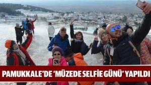 PAMUKKALE'DE 'MÜZEDE SELFİE GÜNÜ' YAPILDI