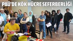 PAÜ'DE KÖK HÜCRE SEFERBERLİĞİ