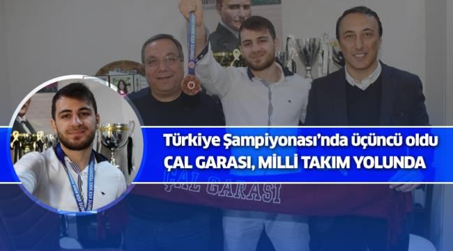 Türkiye Şampiyonası'nda üçüncü oldu