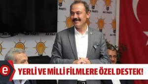 YERLİ VE MİLLİ FİLMLERE ÖZEL DESTEK!