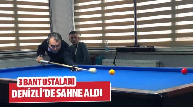 3 BANT USTALARI DENİZLİ'DE SAHNE ALDI