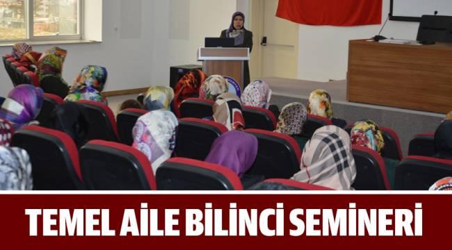ADRB'den Kur'an Kursu Öğreticilerine 'Temel Aile Bilinci' Semineri