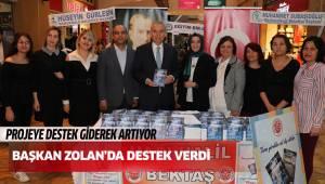 Başkan Osman Zolan'dan anlamlı projeye destek