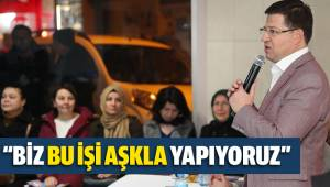 Başkan Subaşıoğlu Akkonak ve Karaman mahalle sakinleri ile buluştu