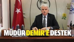 Başkan Tefenlili'den Emniyet Müdürü Demir'e Destek Mesajı