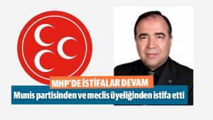 DENİZLİ MHP'DE İSTİFALAR DEVAM