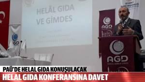 HELAL GIDA KONFERANSINA DAVET